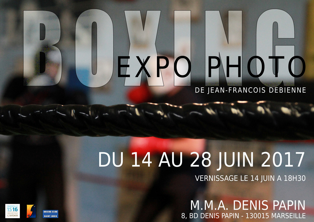 exposition photo Boxing Marseille 16